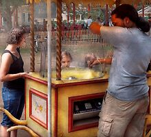 Carnival- Candy - Getting cotton candy  by Mike  Savad