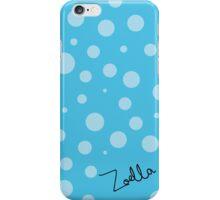Zoella - Blue Polkadots iPhone Case/Skin