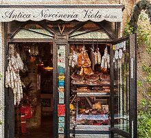 Deli in Rome by lindy sherwell
