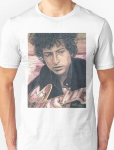 BOB DYLAN PORTRAIT IN INK Unisex T-Shirt