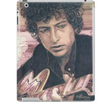 BOB DYLAN PORTRAIT IN INK iPad Case/Skin