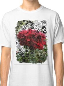 Red Rose with Light 1 Letters 4 Classic T-Shirt