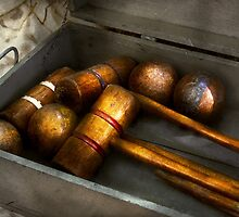 Game - Everyone loves to play Croquet   by Mike  Savad