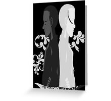 Two Sides. Greeting Card