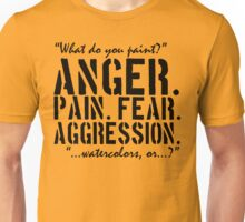 Spaced | Anger. Pain. Fear. Aggression. Unisex T-Shirt
