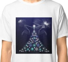 Christmas Tree and Space Classic T-Shirt