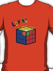 life is a rubiks cube T-Shirt