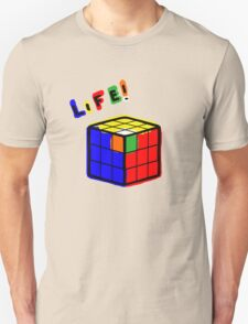 life is a rubiks cube Unisex T-Shirt