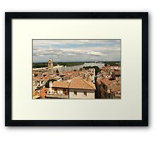Arles on the Rhone - Provence Framed Print