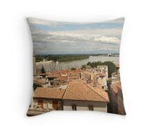 Arles on the Rhone - Provence Throw Pillow