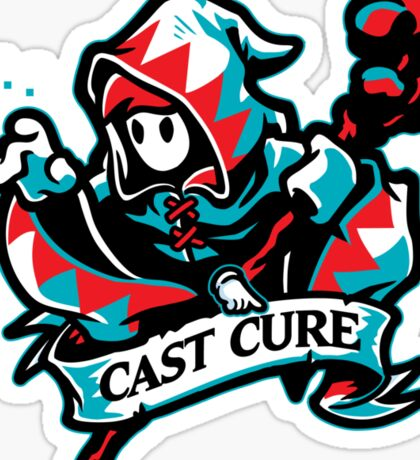 Cast Cure! Sticker