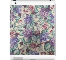 Pink, Purple, Blue Blossoms iPad Case/Skin