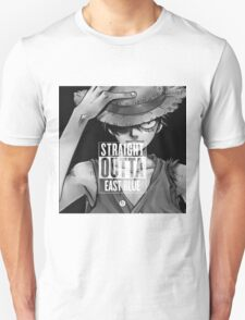 """""""Straight OUTTA EAST BLUE"""" One Piece  Unisex T-Shirt"""
