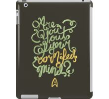 Are you out of your corn-fed mind? iPad Case/Skin