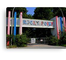 Rocky Point Amusement Park Canvas Print
