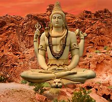 ¸¸.ஐ SHIVA IN LOTUS POSITION A STATUE  OF THIS IS IN BANGALORE INDIA¸¸.ஐ by ╰⊰✿ℒᵒᶹᵉ Bonita✿⊱╮ Lalonde✿⊱╮
