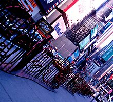 Times Square, Broadway by iraart