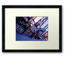 Times Square, Broadway Framed Print