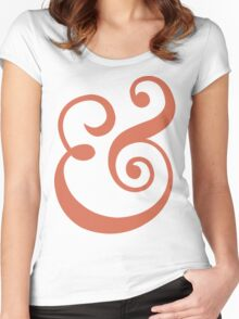 Ampersand Women's Fitted Scoop T-Shirt