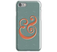 Ampersand iPhone Case/Skin