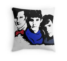 The BBC is Ruining My Life Throw Pillow