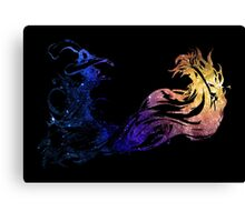 Final Fantasy X logo universe Canvas Print