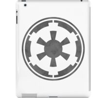 Galactic Empire Logo Grey iPad Case/Skin