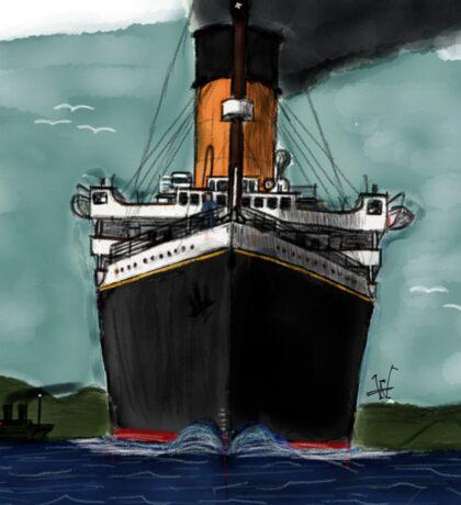 Titanic Bow Sticker