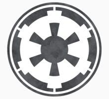 Galactic Empire Logo Grey One Piece - Short Sleeve