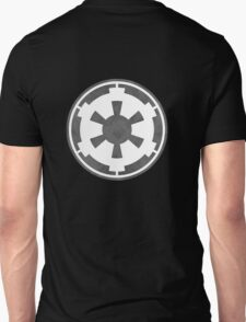 Galactic Empire Logo Grey Unisex T-Shirt
