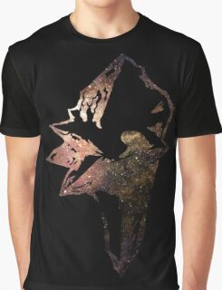 Final Fantasy IX logo universe Graphic T-Shirt