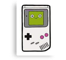 Retro Gameboy Character Canvas Print