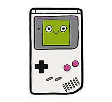 Retro Gameboy Character Photographic Print