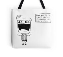 Derek the Comedian Tote Bag