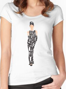 Audrey Hepburn - The Breakfast at Tiffany's Women's Fitted Scoop T-Shirt