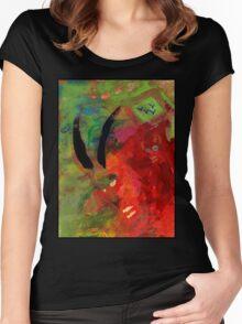 """Watching the Watcher"" by Sam Haycroft Women's Fitted Scoop T-Shirt"