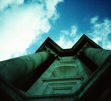 Paul's Pillars - Lomo by Yao Liang Chua