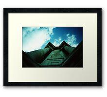 Paul's Pillars - Lomo Framed Print