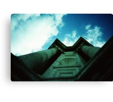 Paul's Pillars - Lomo Canvas Print