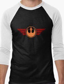 Rebel Alliance Logo Men's Baseball ¾ T-Shirt