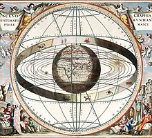 Scenography of the Ptolemaic Cosmography by VintageLevel