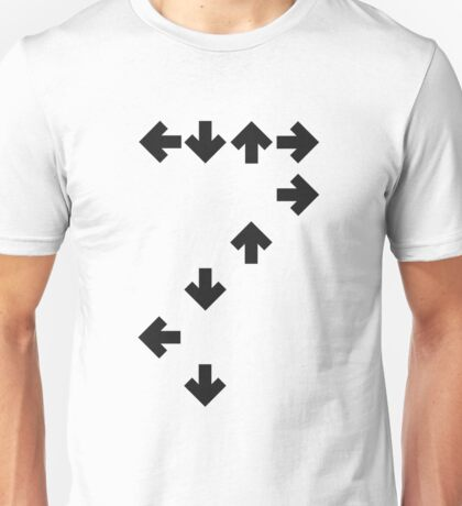 In the Groove: Dark Arrows Unisex T-Shirt
