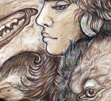 The Wolf Princess Sticker