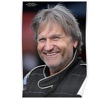 Dragstar Racing Driver Super Hero. Poster