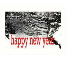 HAPPY NEW YEAR 33 Art Print