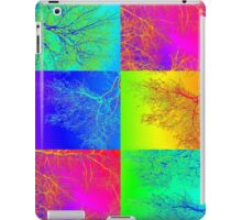 Trees in South Australia - an andy warhol patchwork effect iPad Case/Skin