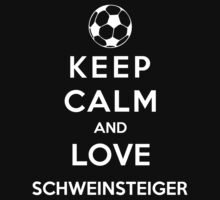 Keep Calm And Love Schweinsteiger by Phaedrart