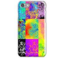 Andy Warhol style tree images, digital photos by Catherine Jacobs iPhone Case/Skin