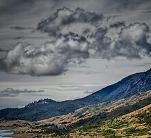 Clouds brewing by Chris Brunton