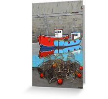 Fishermans friend Greeting Card